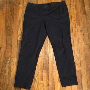 Navy blue Gap khaki pants